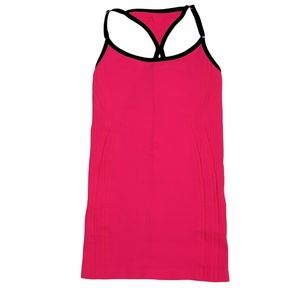 NUX I Sz S I Pink & Black Revive Activewear Workout Top NWT